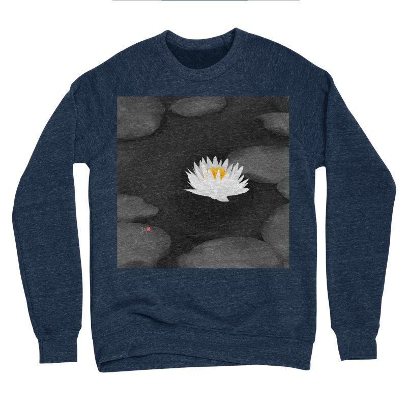 Lotus Women's Sponge Fleece Sweatshirt by Designs by Billy Wan