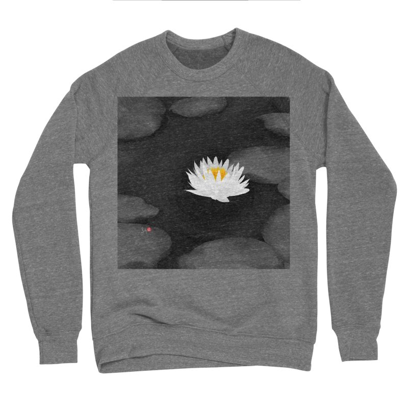 Lotus Women's Sponge Fleece Sweatshirt by Designs by Billy Wan