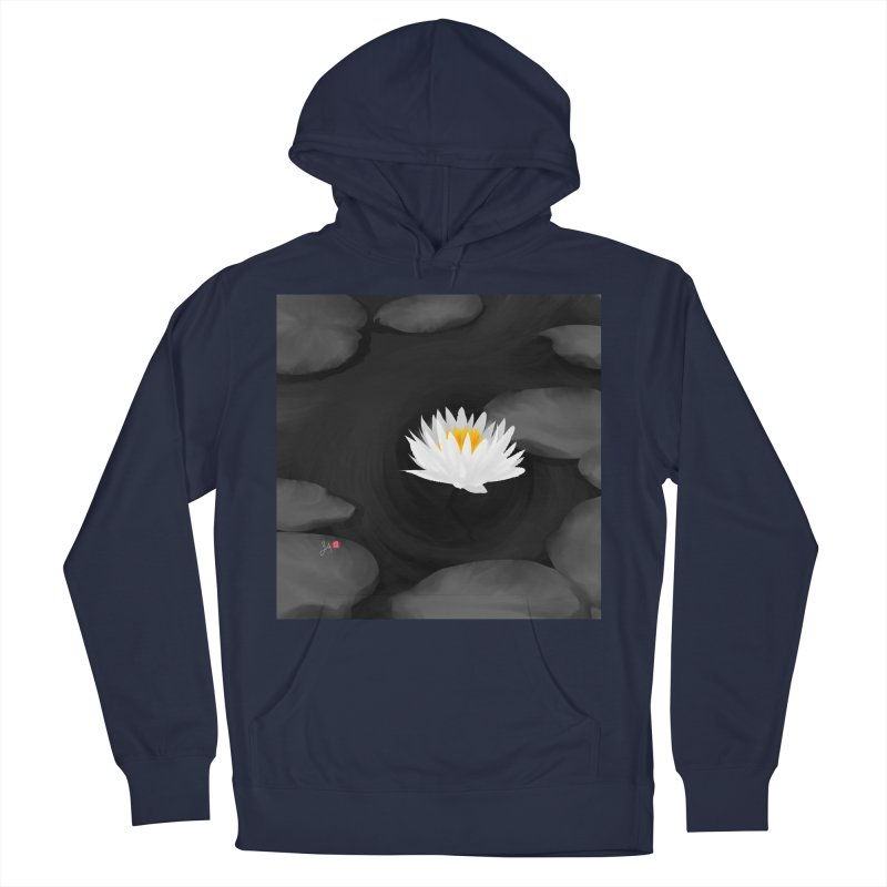 Lotus Men's Pullover Hoody by Designs by Billy Wan