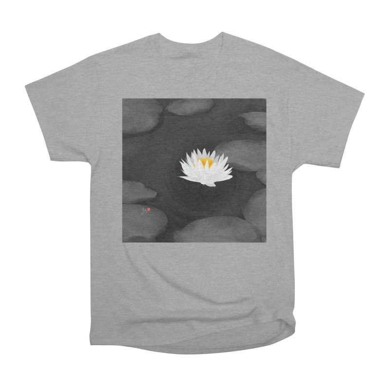 Lotus Women's Heavyweight Unisex T-Shirt by Designs by Billy Wan