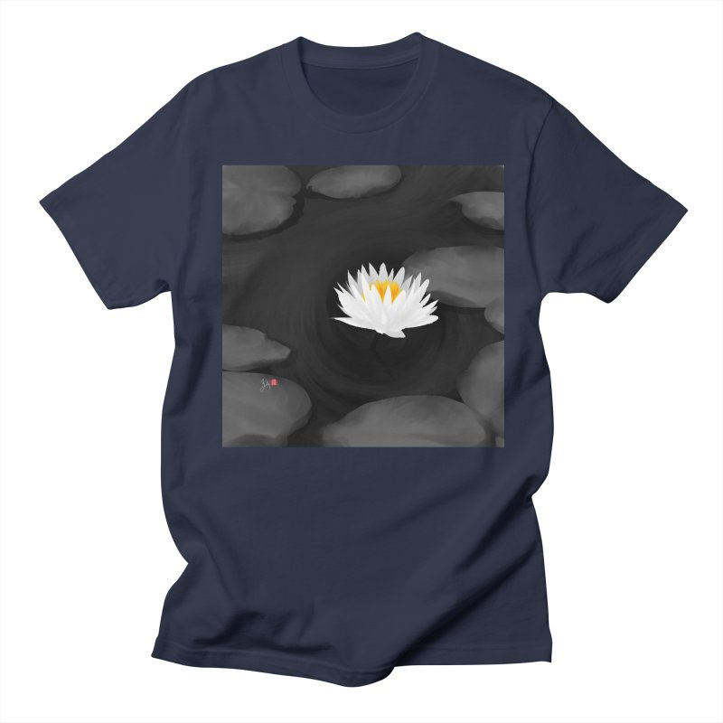 Lotus Men's Regular T-Shirt by Designs by Billy Wan