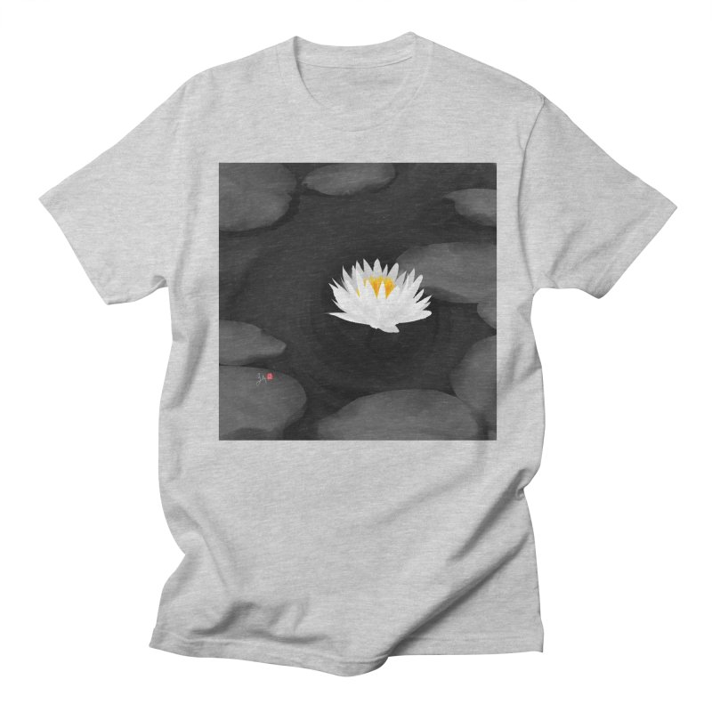 Lotus Women's Regular Unisex T-Shirt by Designs by Billy Wan