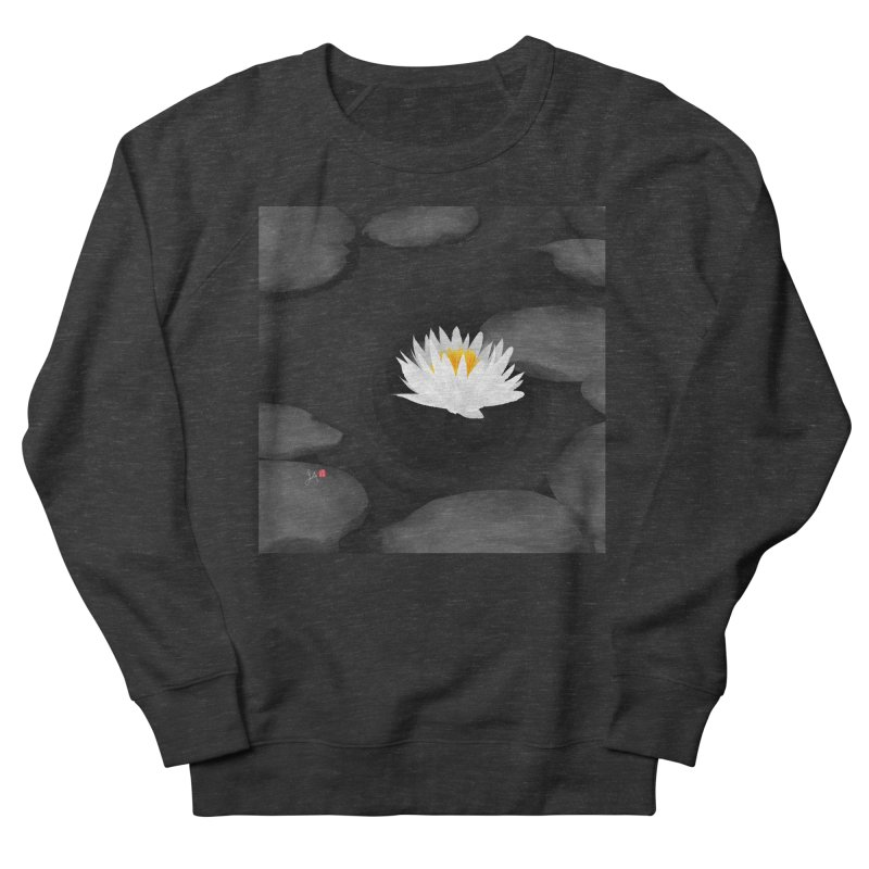 Lotus Women's Sweatshirt by Designs by Billy Wan