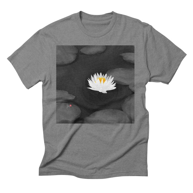 Lotus Men's T-Shirt by Designs by Billy Wan