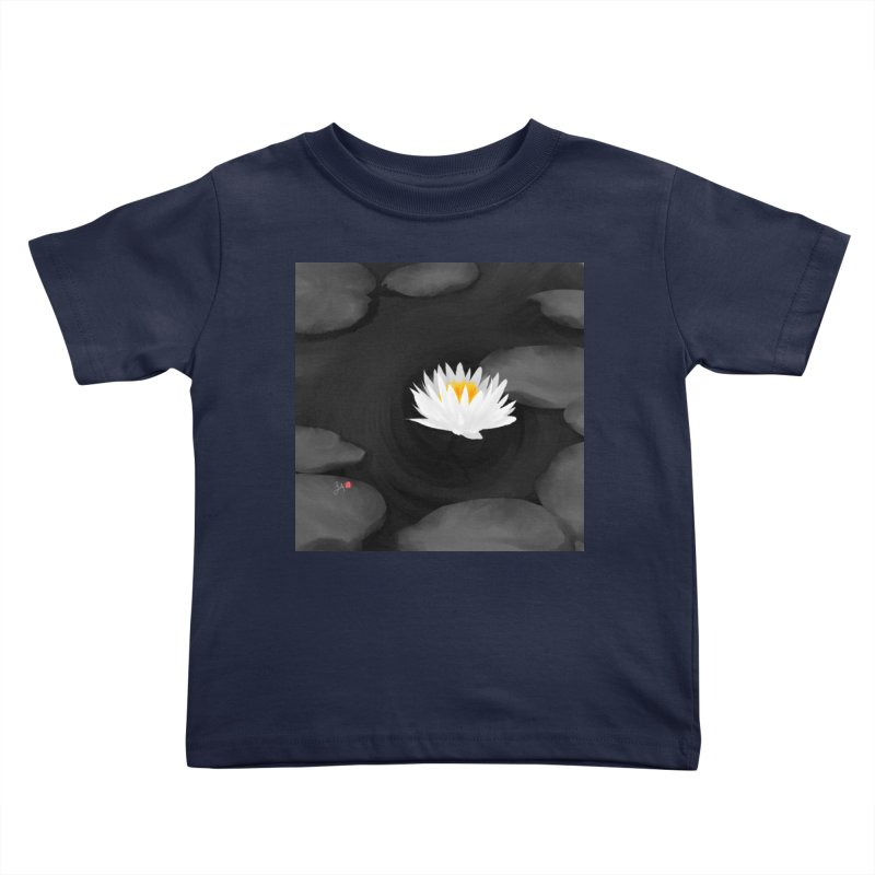 Lotus Kids Toddler T-Shirt by Designs by Billy Wan