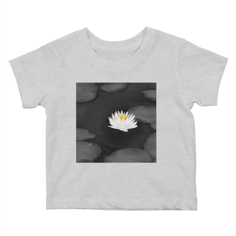 Lotus Kids Baby T-Shirt by Designs by Billy Wan