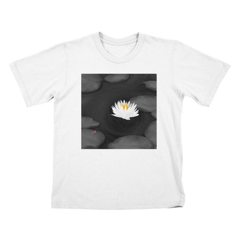 Lotus Kids T-Shirt by Designs by Billy Wan