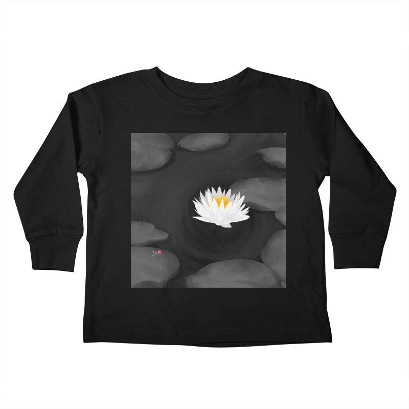 Lotus Kids Toddler Longsleeve T-Shirt by Designs by Billy Wan