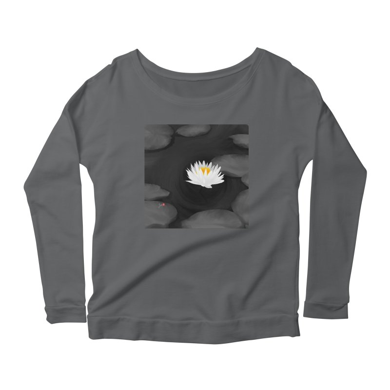Lotus Women's Longsleeve T-Shirt by Designs by Billy Wan