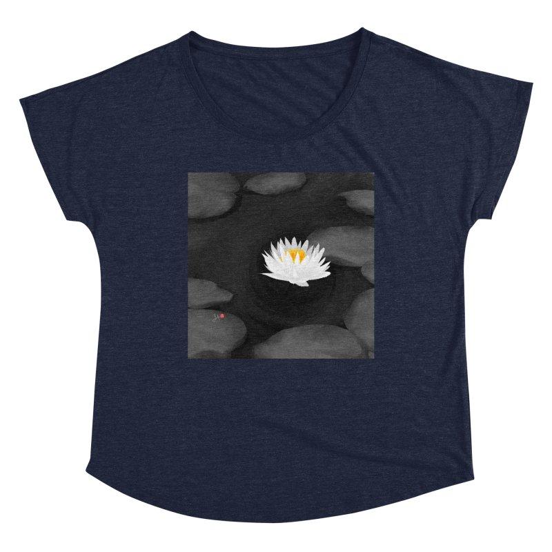 Lotus Women's Dolman Scoop Neck by Designs by Billy Wan