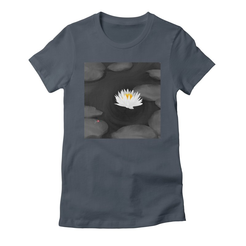 Lotus Women's T-Shirt by Designs by Billy Wan