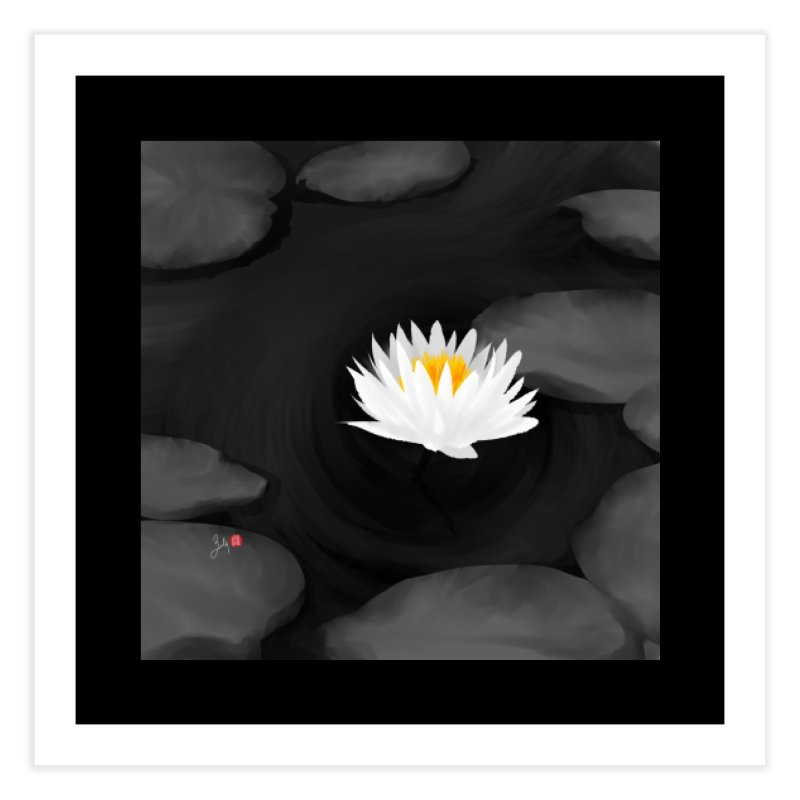 Lotus Home Fine Art Print by Designs by Billy Wan