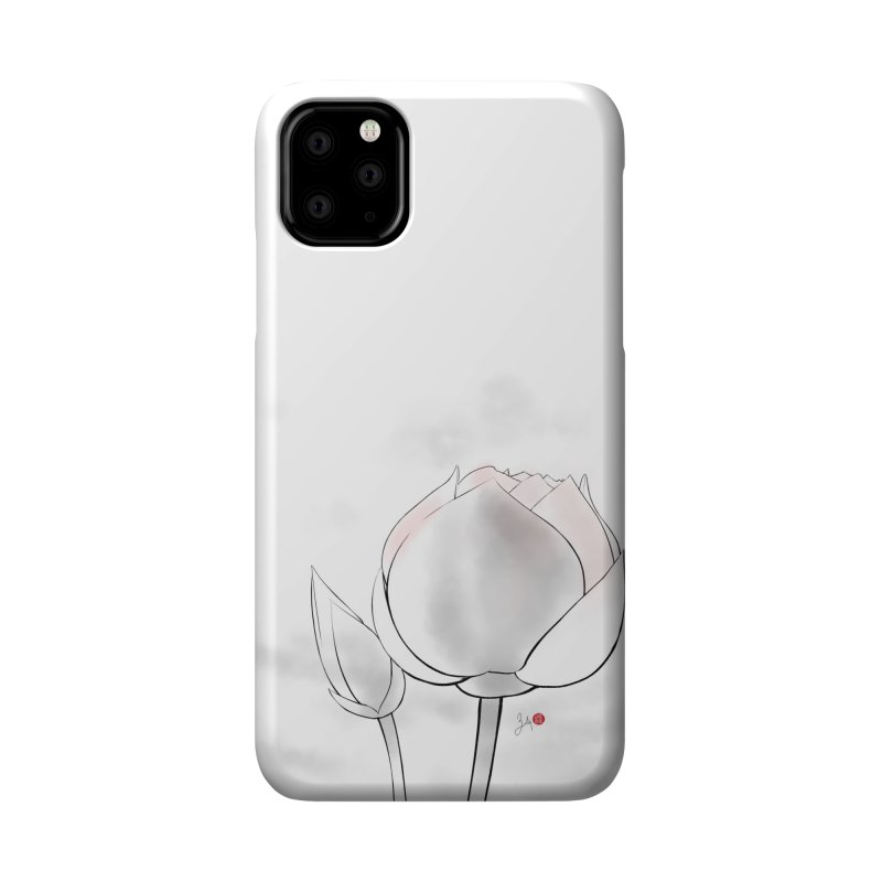 Lotus Bud Accessories Phone Case by Designs by Billy Wan