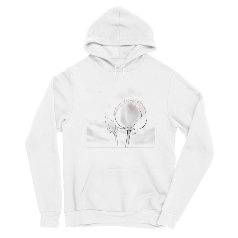 Lotus Bud Women's Pullover Hoody by Designs by Billy Wan