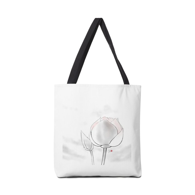 Lotus Bud Accessories Bag by Designs by Billy Wan