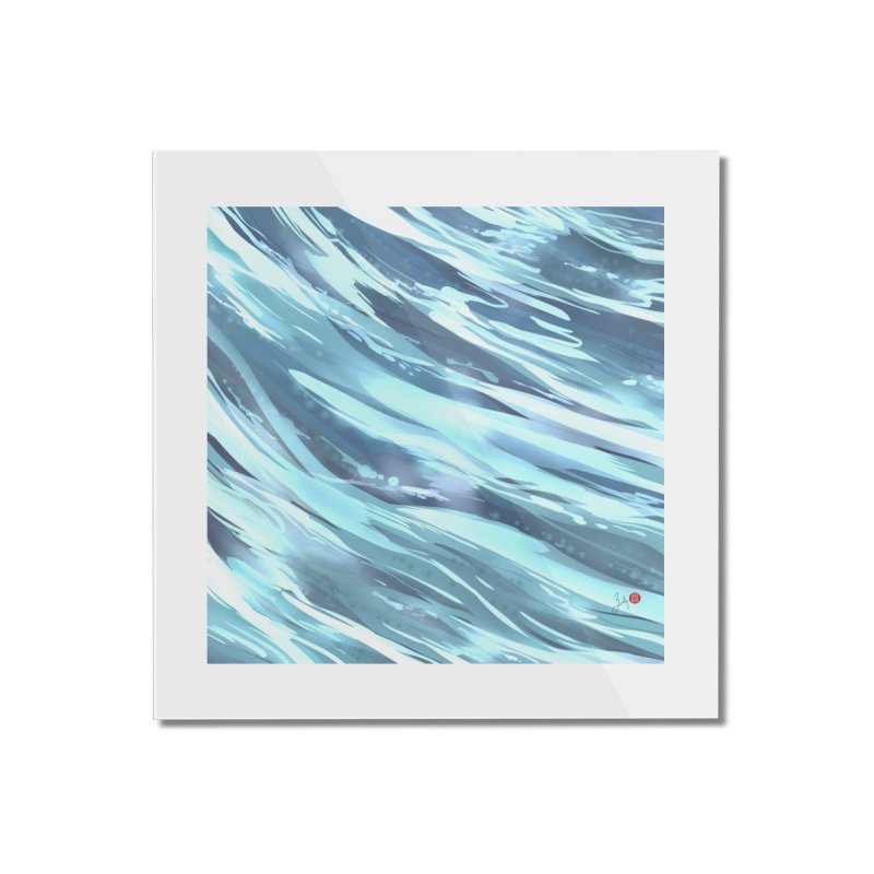Water Home Mounted Acrylic Print by Designs by Billy Wan