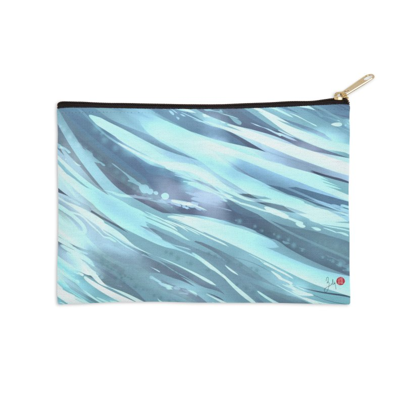 Water Accessories Zip Pouch by Designs by Billy Wan