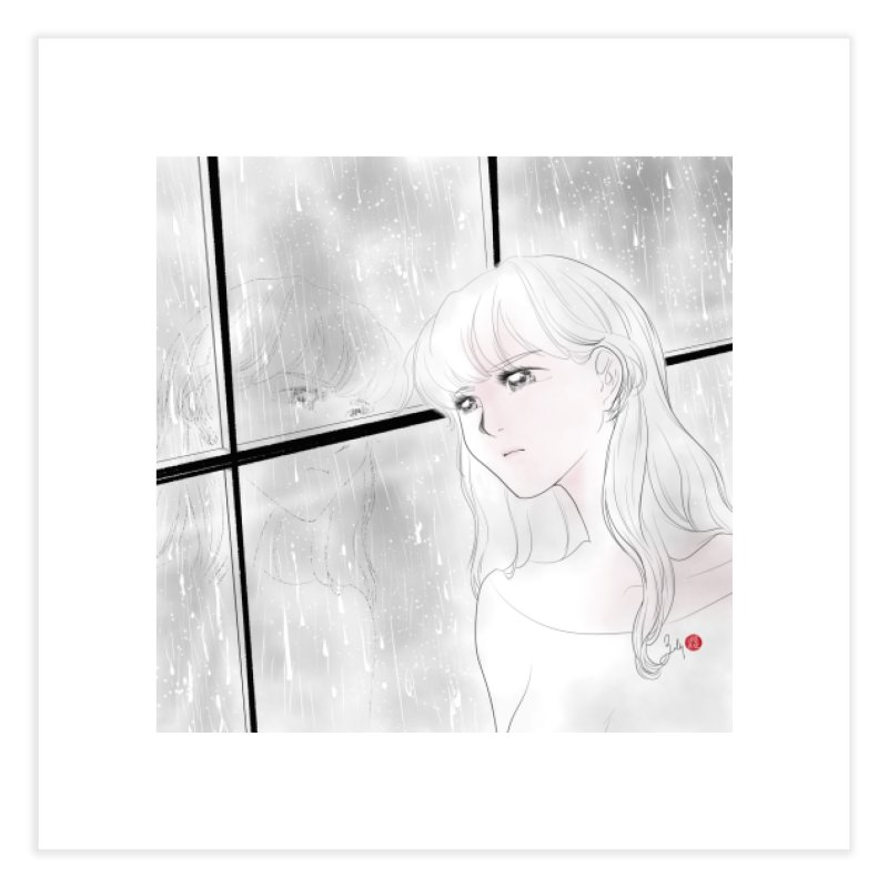 Melancholy Home Fine Art Print by Designs by Billy Wan