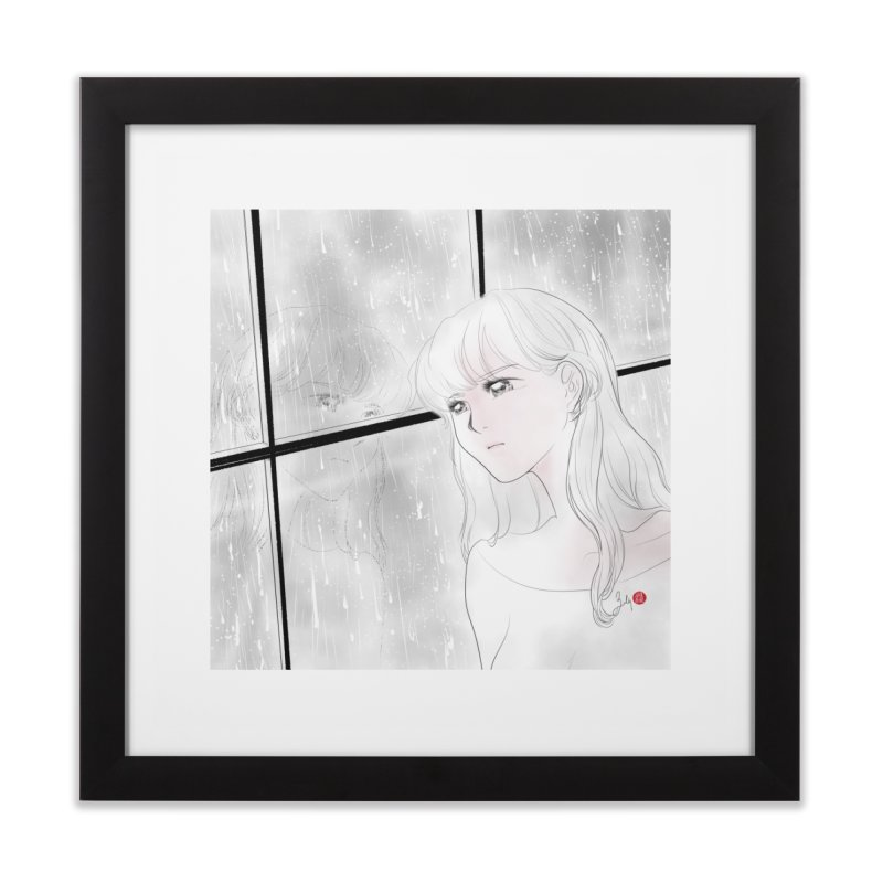 Melancholy Home Framed Fine Art Print by Designs by Billy Wan
