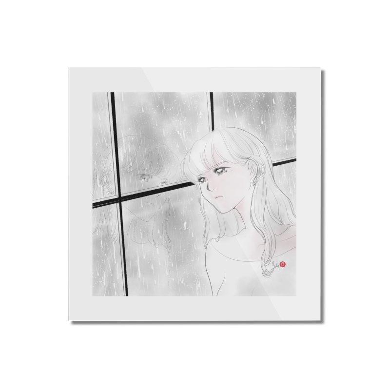Melancholy Home Mounted Acrylic Print by Designs by Billy Wan