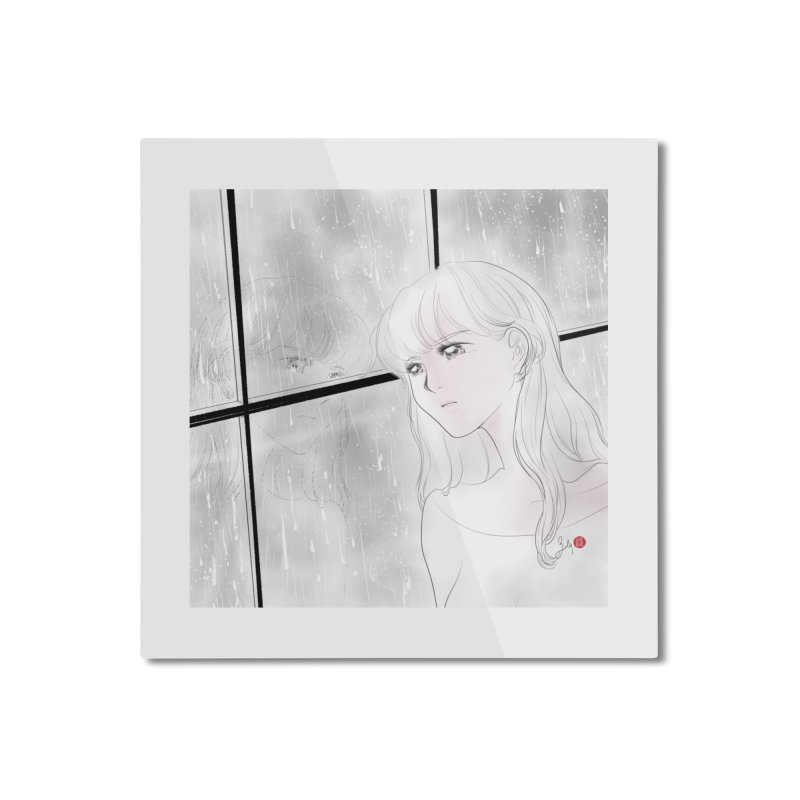 Melancholy in Mounted Aluminum Print by Designs by Billy Wan
