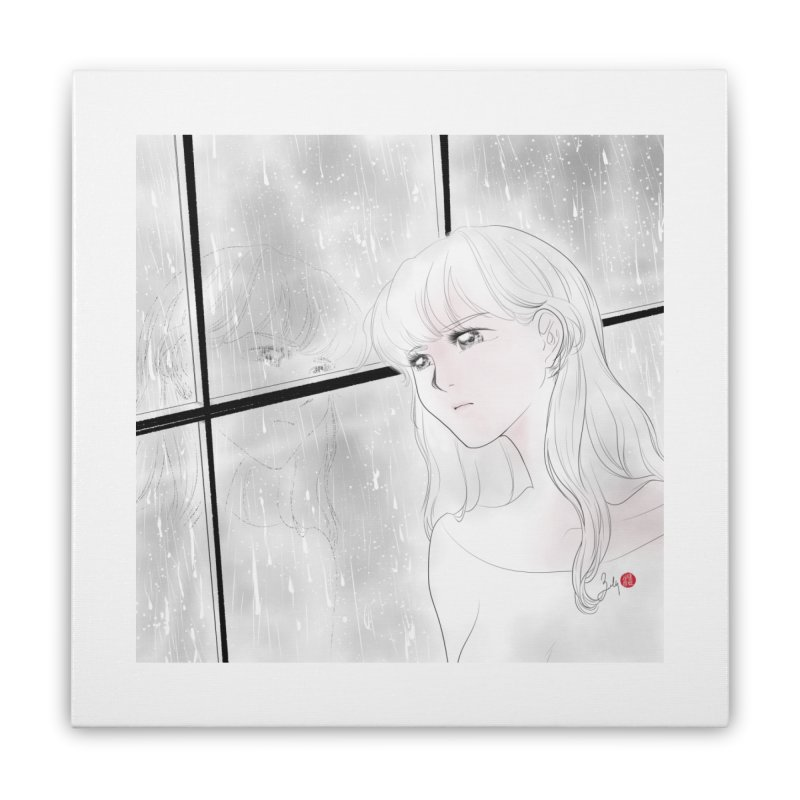 Melancholy Home Stretched Canvas by Designs by Billy Wan