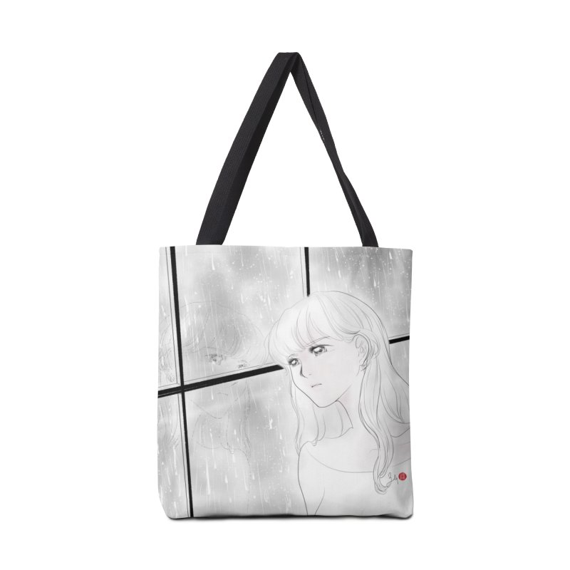 Melancholy Accessories Tote Bag Bag by Designs by Billy Wan
