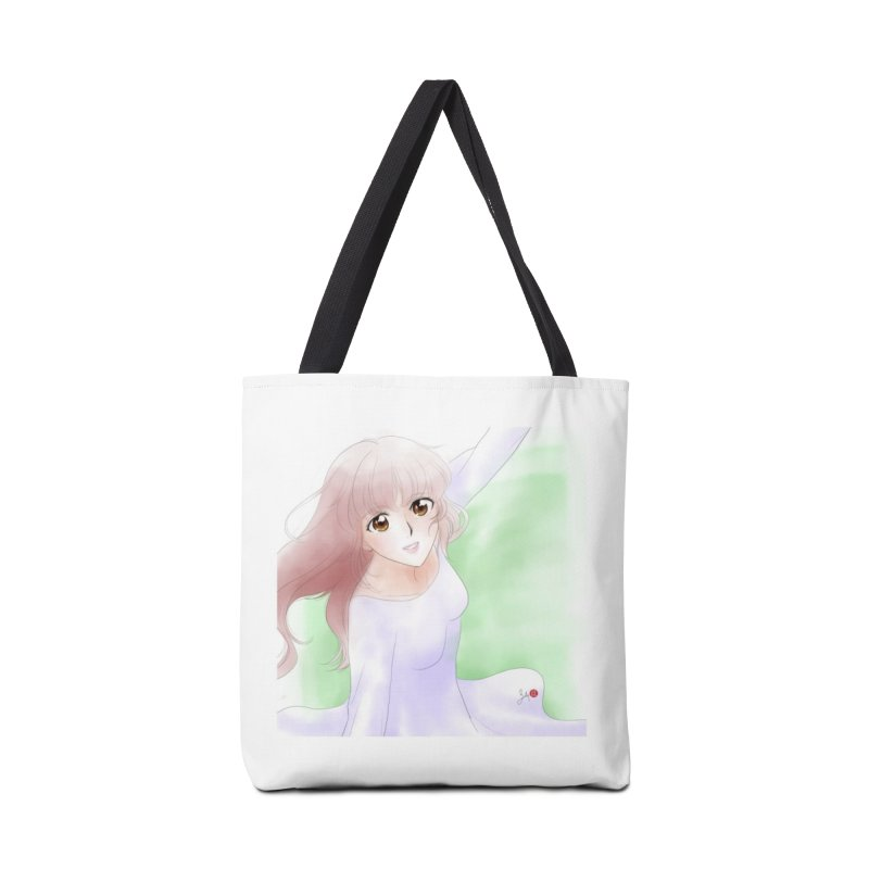 Manga Girl Accessories Bag by Designs by Billy Wan