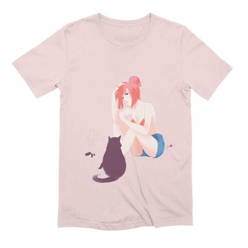 Cat Owner or Slave? Men's Extra Soft T-Shirt by Designs by Billy Wan