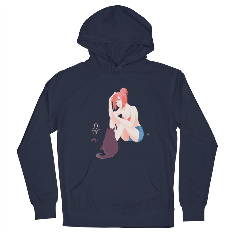 Cat Owner or Slave? Men's Pullover Hoody by Designs by Billy Wan