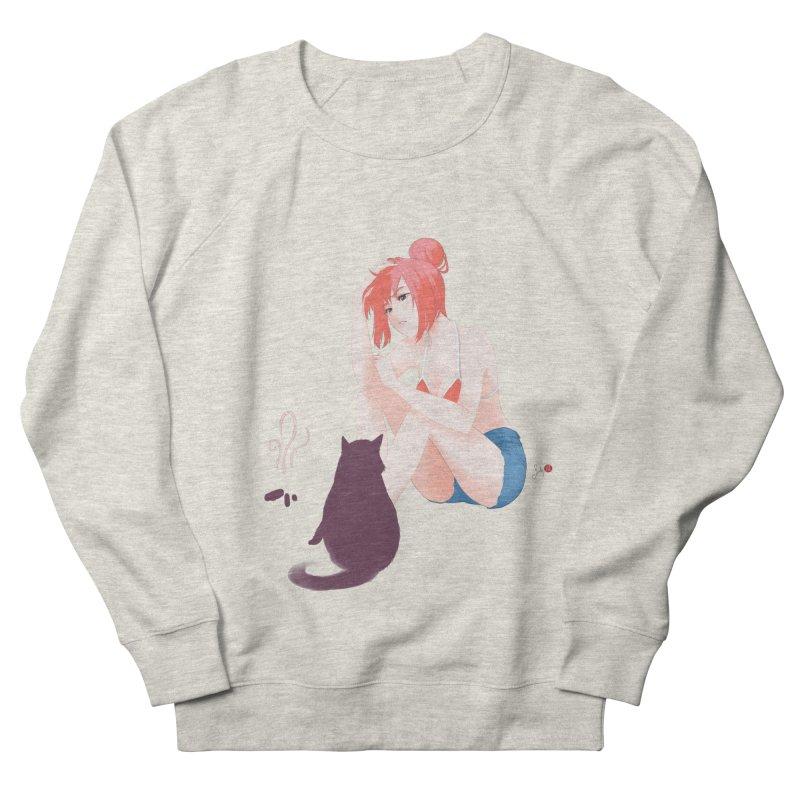 Cat Owner or Slave? Men's Sweatshirt by Designs by Billy Wan