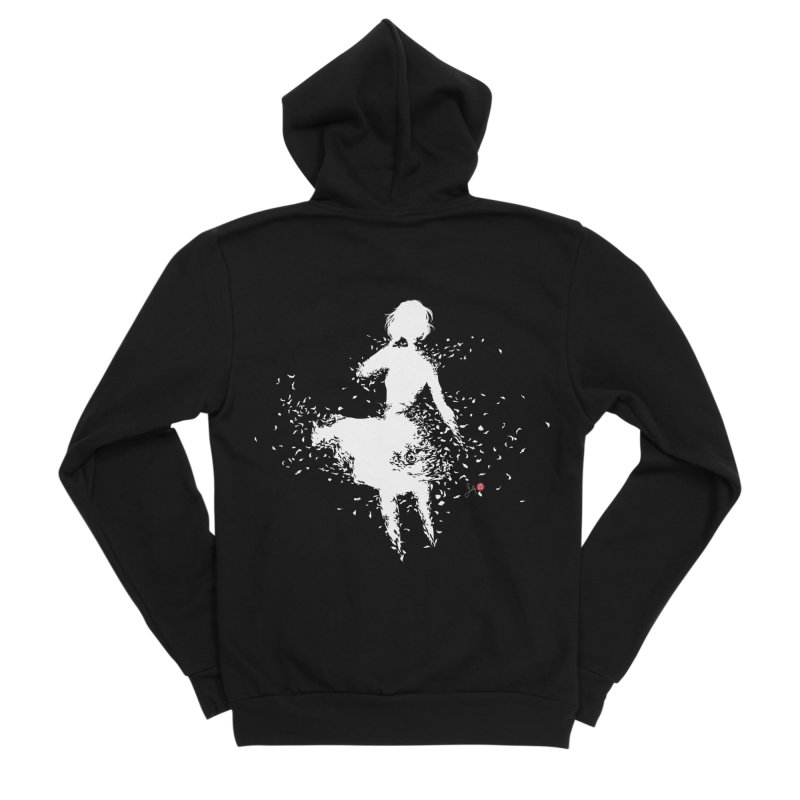 Into Infinity Women's Sponge Fleece Zip-Up Hoody by Designs by Billy Wan