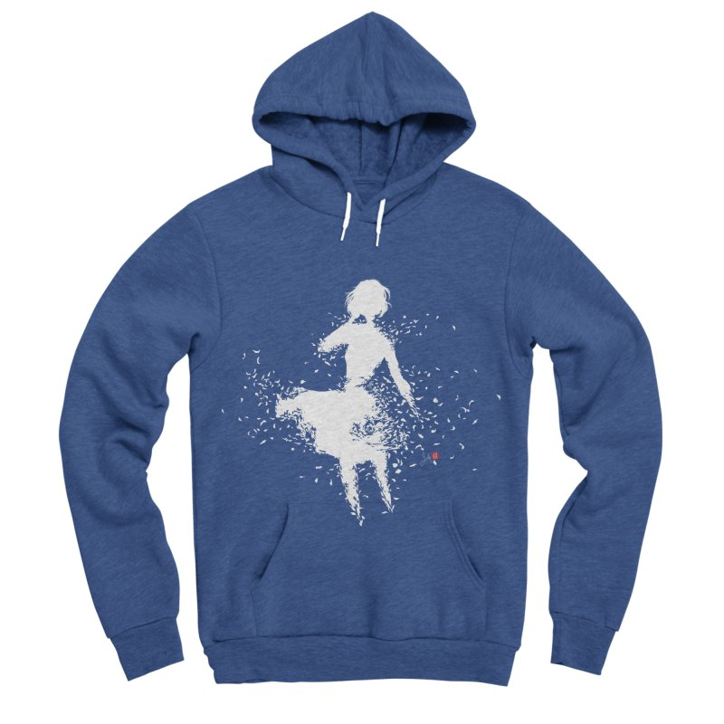 Into Infinity Women's Sponge Fleece Pullover Hoody by Designs by Billy Wan