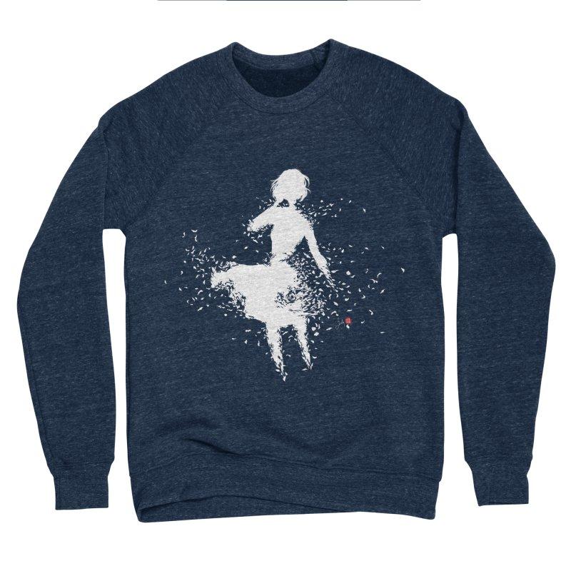 Into Infinity Men's Sponge Fleece Sweatshirt by Designs by Billy Wan
