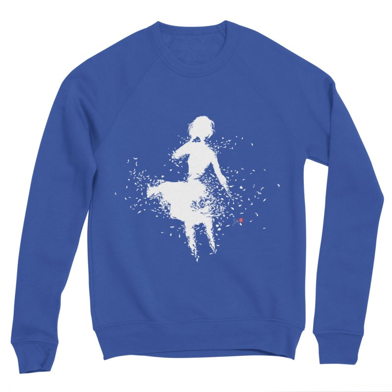 Into Infinity Women's Sponge Fleece Sweatshirt by Designs by Billy Wan