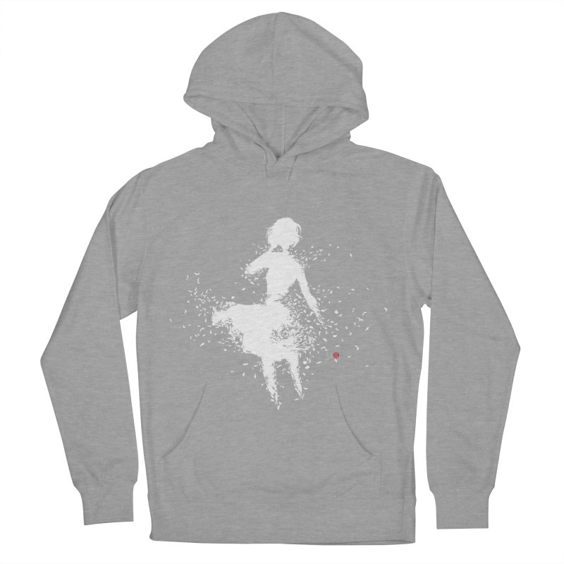 Into Infinity Men's French Terry Pullover Hoody by Designs by Billy Wan