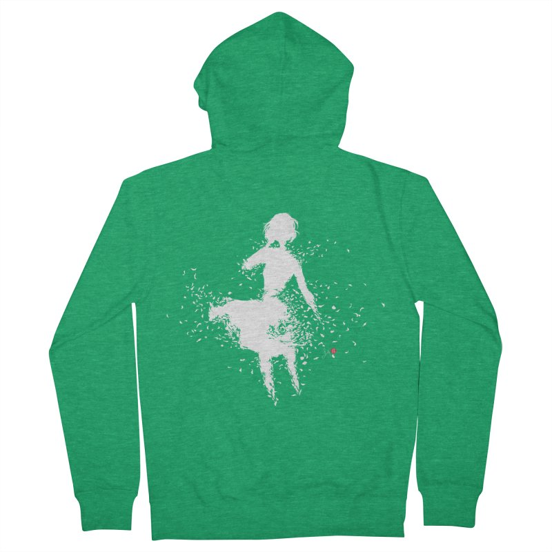 Into Infinity Women's Zip-Up Hoody by Designs by Billy Wan