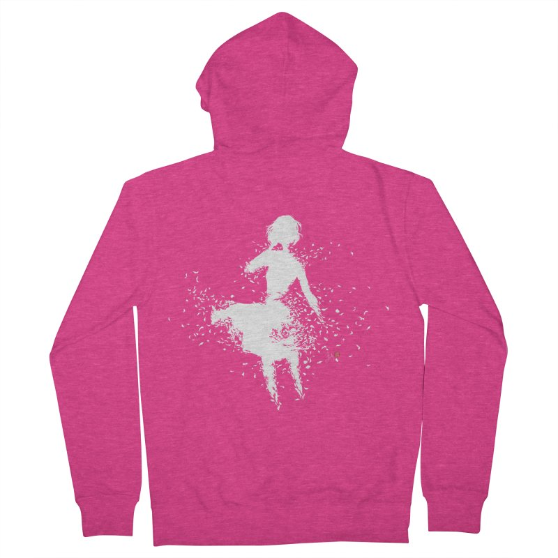 Into Infinity Women's French Terry Zip-Up Hoody by Designs by Billy Wan