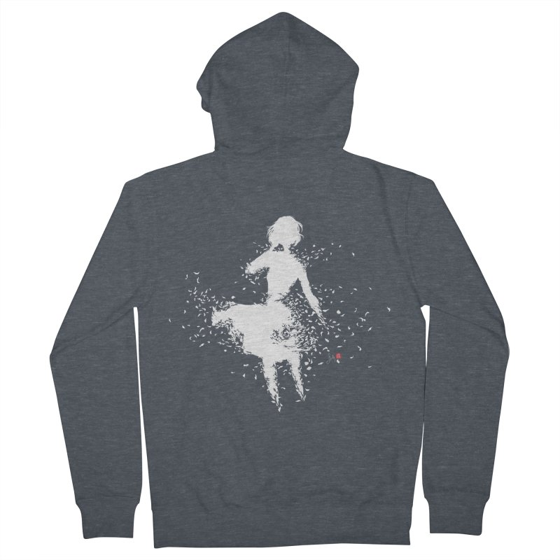 Into Infinity Men's French Terry Zip-Up Hoody by Designs by Billy Wan