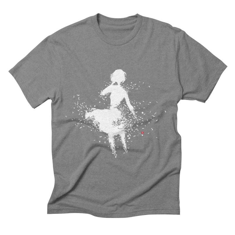 Into Infinity Men's Triblend T-Shirt by Designs by Billy Wan
