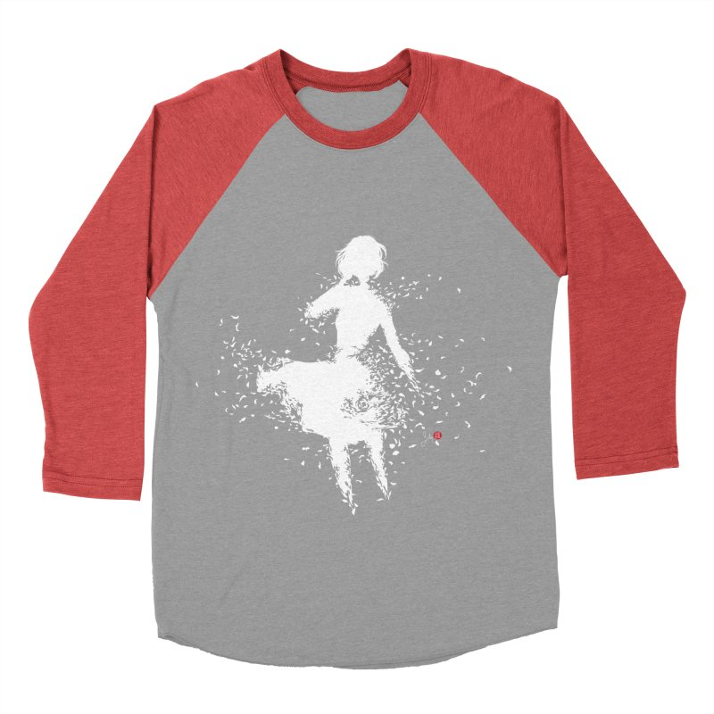 Into Infinity Women's Baseball Triblend Longsleeve T-Shirt by Designs by Billy Wan