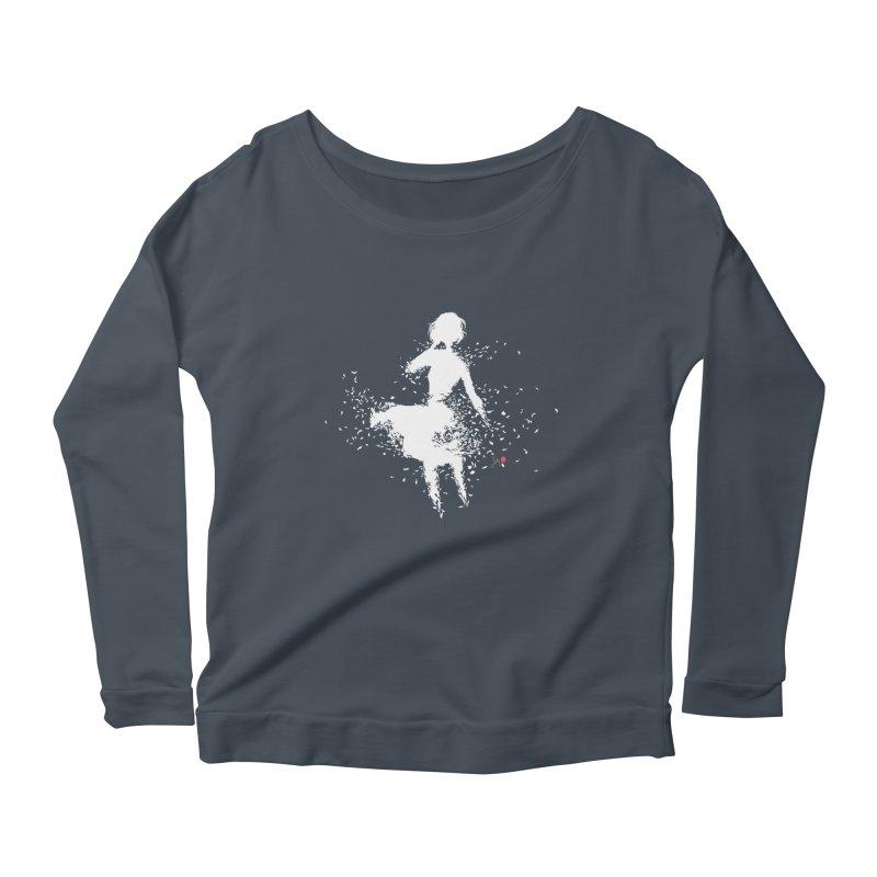 Into Infinity Women's Scoop Neck Longsleeve T-Shirt by Designs by Billy Wan