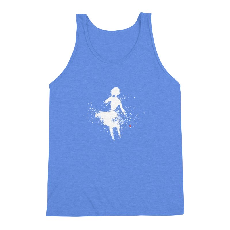 Into Infinity Men's Triblend Tank by Designs by Billy Wan