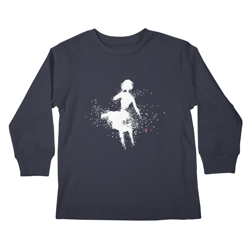Into Infinity Kids Longsleeve T-Shirt by Designs by Billy Wan