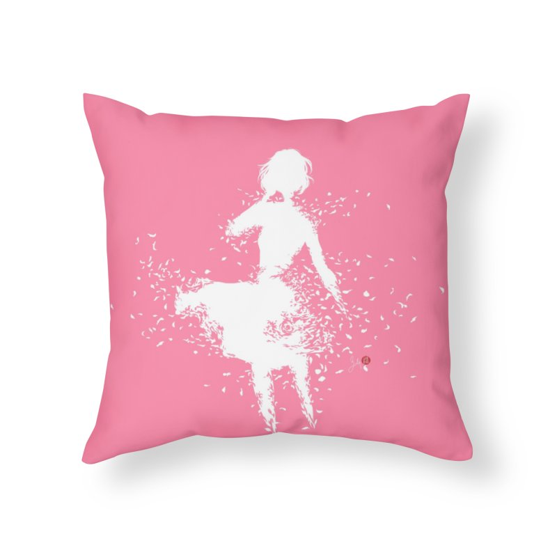 Into Infinity in Throw Pillow by Designs by Billy Wan