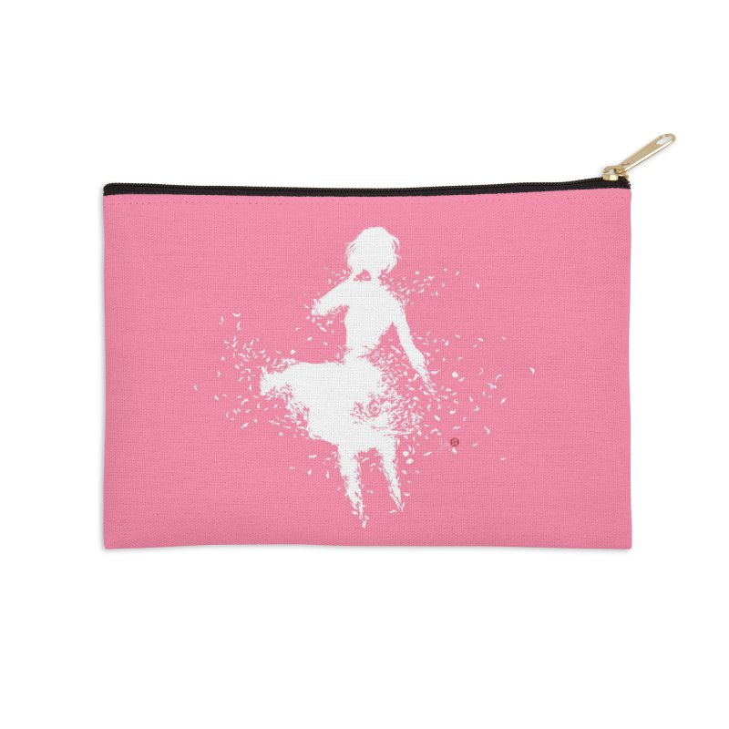 Into Infinity Accessories Zip Pouch by Designs by Billy Wan