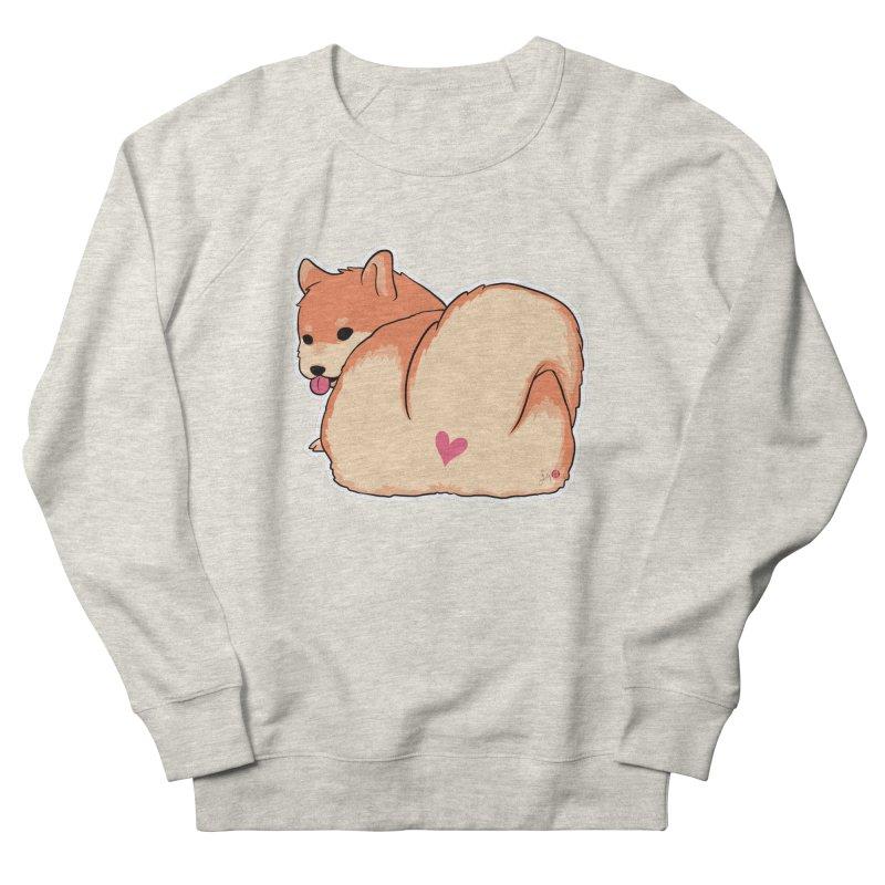 Shiba Inu Butt Men's Sweatshirt by Designs by Billy Wan