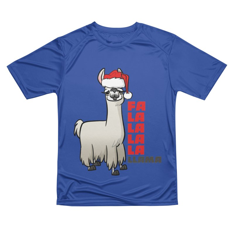 Fa La La Llama Men's Performance T-Shirt by binarygod's Artist Shop