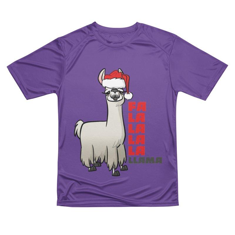 Fa La La Llama Women's Performance Unisex T-Shirt by binarygod's Artist Shop