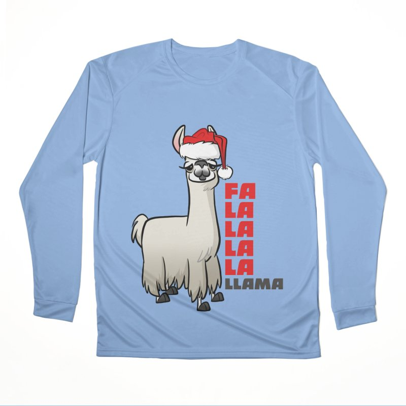 Fa La La Llama Women's Performance Unisex Longsleeve T-Shirt by binarygod's Artist Shop
